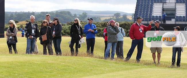 A plethera of SA family and friends ahead of the 144th Open, played at the Old Course, St Andrews, Scotland. /14/07/2015/. Picture: Golffile | David Lloyd<br /> <br /> All photos usage must carry mandatory copyright credit (&copy; Golffile | David Lloyd)
