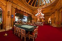 Roulette tables, Casino Baden Baden, Baden Baden, Baden-Württemberg, Germany