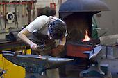 The forge, 3D Design dept., University College for the Creative Arts, Farnham.