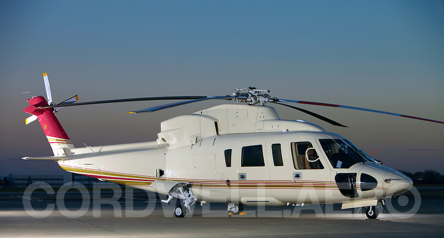 Sikorsky S76 Corporate Helicopter