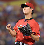 Yu Darvish (Rangers),<br /> SEPTEMBER 24, 2013 - MLB :<br /> Pitcher Yu Darvish of the Texas Rangers during the Major League Baseball game against the Houston Astros at Rangers Ballpark in Arlington in Arlington, Texas, United States. (Photo by AFLO)