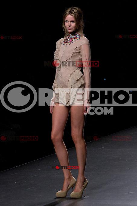 03.09.2012. Models walk the runway in the Ana Balboa fashion show during the EGO Mercedes-Benz Fashion Week Madrid Spring/Summer 2013 at Ifema. (Alterphotos/Marta Gonzalez) /NortePhoto.com<br /> <br /> **CREDITO*OBLIGATORIO** <br /> *No*Venta*A*Terceros*<br /> *No*Sale*So*third*<br /> *** No*Se*Permite*Hacer*Archivo**<br /> *No*Sale*So*third*