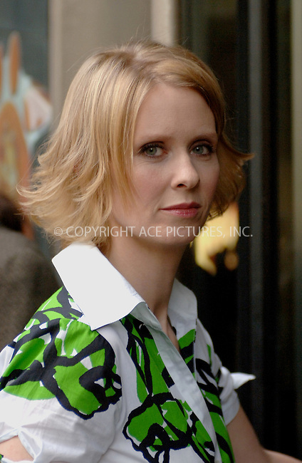 """WWW.ACEPIXS.COM . . . . .  ....NEW YORK, APRIL 27, 2006....Cynthia Nixon at the """"One Last Thing"""" Premiere at the 5th Annual Tribeca Film Festival.....Please byline: BRETT KAFFEE-ACEPIXS.COM.... *** ***..Ace Pictures, Inc:  ..(212) 243-8787 or (646) 769 0430..e-mail: picturedesk@acepixs.com..web: http://www.acepixs.com"""