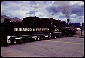 D&amp;RGW #476 K-28  - Durango and Silverton Line - Durango.<br /> D&amp;RGW  Durango, CO