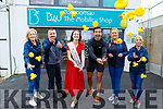 Kerry Rose 2019 Sally Anne Leahy and Aidan O'Mahoney launch the fitness events for Rose of Tralee sponsored by Bathrooms 4U Mobility Shop on Friday. <br /> L to r: Jacinta McMahon, David O'Shea, Kerry Rose 2019 Sally Anne Leahy, Aidan O'Mahoney, Kelly O'Shea and Brid Sheehy.