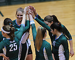 Tulane Women's Volleyball honors two seniors and closes out the 2010 season with a 3-0 sweep of Southern Miss at Fogelman Arena.