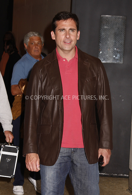 WWW.ACEPIXS.COM . . . . .  ....June 17 2008, New York City....Actor Steve Carell made an apeparance on MTV's TRL show at their Times Square studio, June 17 2008, New York City....Please byline: AJ Sokalner - ACEPIXS.COM..... *** ***..Ace Pictures, Inc:  ..te: (646) 769 0430..e-mail: info@acepixs.com..web: http://www.acepixs.com