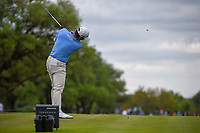 Danny Lee (NZL) watches his tee shot on 2 during day 4 of the Valero Texas Open, at the TPC San Antonio Oaks Course, San Antonio, Texas, USA. 4/7/2019.<br /> Picture: Golffile | Ken Murray<br /> <br /> <br /> All photo usage must carry mandatory copyright credit (© Golffile | Ken Murray)