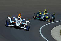 Verizon IndyCar Series<br /> Indianapolis 500 Carb Day<br /> Indianapolis Motor Speedway, Indianapolis, IN USA<br /> Friday 26 May 2017<br /> JR Hildebrand, Ed Carpenter Racing Chevrolet, Ed Carpenter, Ed Carpenter Racing Chevrolet<br /> World Copyright: F. Peirce Williams