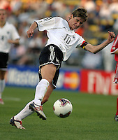 Bettina Weigmann(Germany) 2003WWC Germany v Canada.