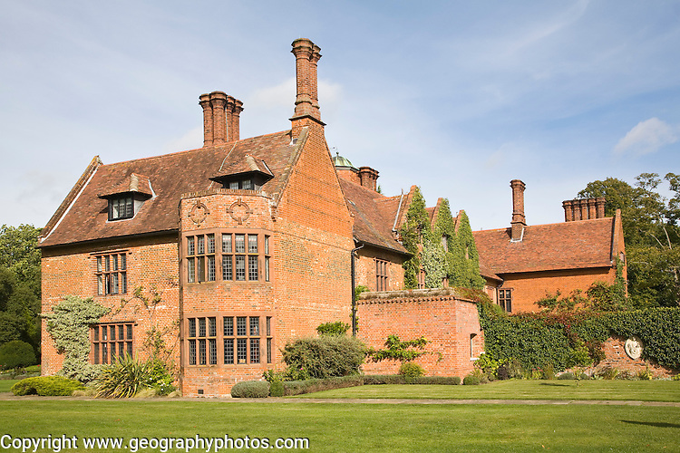 Woodhall manor Tudor house, Sutton, Suffolk, England used as a wedding venue