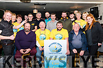 In Francie Sheahan's, Killorglin on Friday Night Recovery Haven supporters gathered for a sponsored beard shave by the crew of JAMES barbers.<br /> Seated Front L-R Former Lord Mayor of Killorglin Paudie Cronin, Dodo Sheahan proprietor of of Francie Sheahan's Bar, Timmy Rua O'Sullivan, Tim Keenan.<br /> Back L-R James Sheehan, Catherine O'Donoghue & Pat Tyther from Recovery Haven, Patrick Sheehan, Timothy Chippy O'Connor, Jed Teahan, John Aherne, Adrian Boyle, Rory Dowling, Miranda Aherne & Caroline Foley from Recovery Haven & Audrey Dower from JAMES.