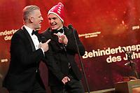 Rainer Maria Salzgeber & Théo Gmür - Credit Suisse Sports Awards 2018