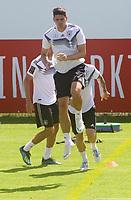 Mario Gomez (Deutschland Germany) - 05.06.2018: Training der Deutschen Nationalmannschaft zur WM-Vorbereitung in der Sportzone Rungg in Eppan/Südtirol