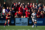 KANSAS CITY, MO - DECEMBER 02: Holly Talbut-Smith (2) of Carson-Newman University dribbles the ball during the Division II Women's Soccer Championship held at the Swope Soccer Village on December 2, 2017 in Kansas City, Missouri. (Photo by Doug Stroud/NCAA Photos/NCAA Photos via Getty Images)
