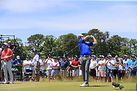 Zach Johnson (USA) tees off the 8th tee during Saturday's Round 3 of the 118th U.S. Open Championship 2018, held at Shinnecock Hills Club, Southampton, New Jersey, USA. 16th June 2018.<br /> Picture: Eoin Clarke | Golffile<br /> <br /> <br /> All photos usage must carry mandatory copyright credit (&copy; Golffile | Eoin Clarke)