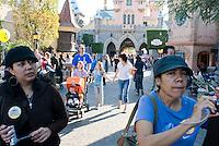 """Disneyland """"Where dreams come true"""", California."""