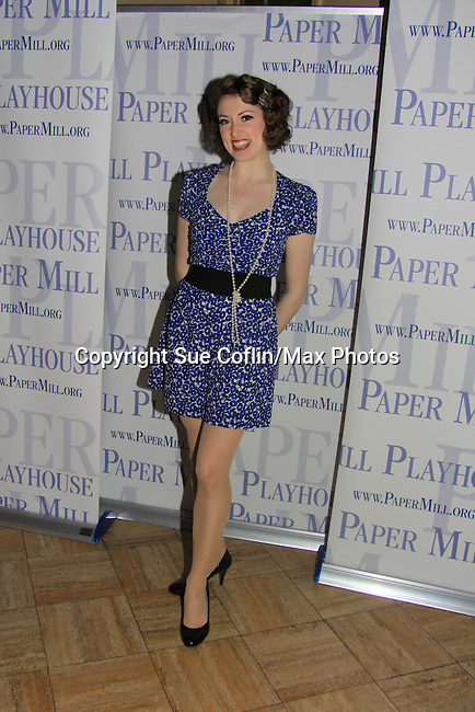 "Darien Crago stars in ""Thoroughly Modern Miillie"" at the Paper Mill Playhouse, Millburn, NJ with opening night being on April 14, 2013. Opening Night at after party at Martinis Bistro and Bar.   (Photo by Sue Coflin/Max Photos)"