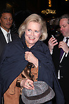 Candice Bergen.exiting the Stager Door after  the Broadway Opening Night Performance of 'Gore Vidal's The Best Man' at the Gerald Schoenfeld Theatre in New York City on 4/1/2012