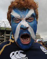 A Scottish fan ahead of the Quarter Final of the Rugby World Cup 2015 between Australia and Scotland - 18/10/2015 - Twickenham Stadium, London<br /> Mandatory Credit: Rob Munro/Stewart Communications