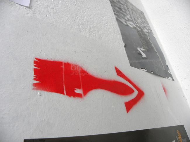 Un pinceau - le symbole du Fabrica de Pensule.