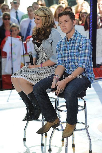 WWW.ACEPIXS.COM . . . . . .June 2, 2011...New York City...Lauren Alaina and Scotty McCreery perform on NBC's 'Today' at Rockefeller Center on June 2, 2011 in New York City.....Please byline: KRISTIN CALLAHAN - ACEPIXS.COM.. . . . . . ..Ace Pictures, Inc: ..tel: (212) 243 8787 or (646) 769 0430..e-mail: info@acepixs.com..web: http://www.acepixs.com .