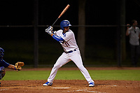 AZL Dodgers Mota Luis Carlos Diaz (11) at bat during an Arizona League game against the AZL Rangers at Camelback Ranch on June 18, 2019 in Glendale, Arizona. AZL Dodgers Mota defeated AZL Rangers 13-4. (Zachary Lucy/Four Seam Images)