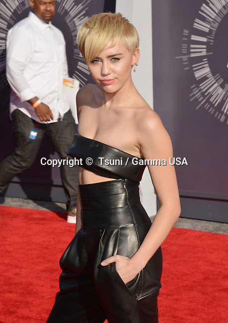 Miley Cyrus 112 at the  MTV Video Music Awards at the Great Western Forum in Los Angeles.