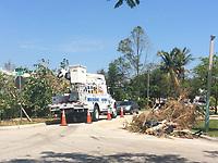 2017 FPL Hurricane Irma restoration in Little Havana, Fla. on September 17, 2017.