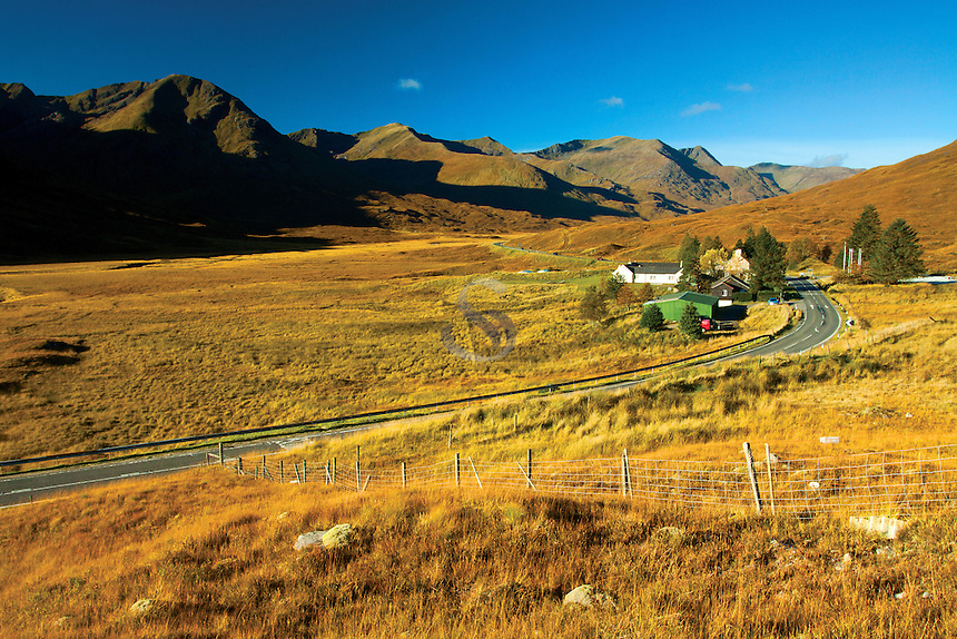 The South Cluanie Ridge near the Cluanie Inn, Glen Shiel; Skye & Lochalsh, Highland
