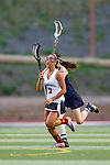 San Diego, CA 04/19/10 - Camille Doan (Torrey Pines #2) in action during the Torrey Pines-La Costa Canyon Girls Lacrosse game at Torrey Pines.