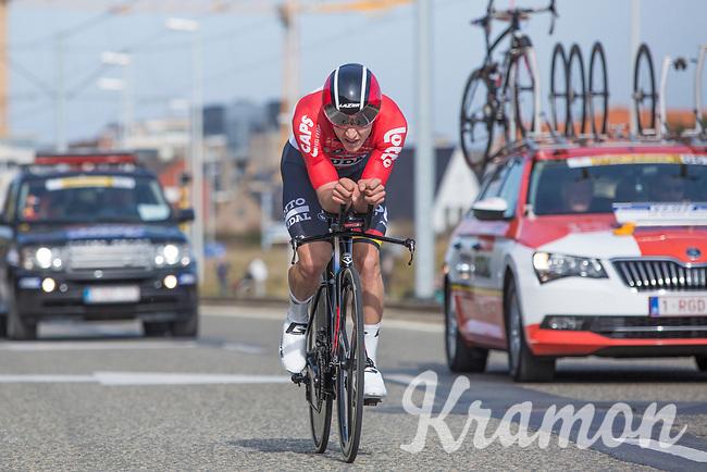 Jasper Debuyst (BEL/Lotto Soudal)<br /> <br /> 3 Days of De Panne 2017<br /> afternoon stage 3b: ITT De Panne-De Panne (14,2km)