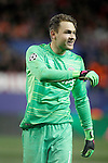 PSV Eindhoven's Jeroen Zoet during UEFA Champions League match. March 15,2016. (ALTERPHOTOS/Acero)