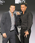 Vinnie and Pauly D of the jersey shore attends The 2011 MTV Video Music Awards held at Nokia Live in Los Angeles, California on August 28,2011                                                                               © 2011 DVS / Hollywood Press Agency