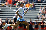 01 May 2016: North Carolina's Carly Davis. The University of North Carolina Tar Heels played the Syracuse University Orange at Lane Stadium in Blacksburg, Virginia in the 2016 Atlantic Coast Conference Women's Lacrosse Tournament championship match. North Carolina won 15-14 in overtime.