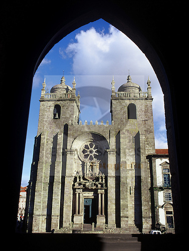 Porto, Portugal, Unesco, World heritage, Sé Catedral Porto