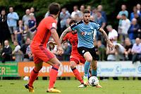 HAREN - Voetbal, FC Groningen - Real Sociedad, voorbereiding seizoen 2017-2018, 02-08-2017,  /FC Groningen speler Lars Veldwijk