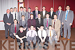 Dr Crokes Junior team who were honored at their annual social in the INEC on Sunday night front row l-r: Cian O'Neill, Keith Flynn, Jason Lyne, Cian Fitzgerald. Middle row; Michael O'Donoghue, Gavin O'Shea, Sean Coppinger, shane O'Neill, Brian o'Shea, Andrew Kennelly. Back row: Eddie Tatler O'Sullivan, Ger O'Shea, Keith O'Leary, Conor O'Neill, Darragh Stack, Brendan Falvey, Brian McMahon, James Jones, Edmond O'Sullivan, David Moloney and Finian Moran