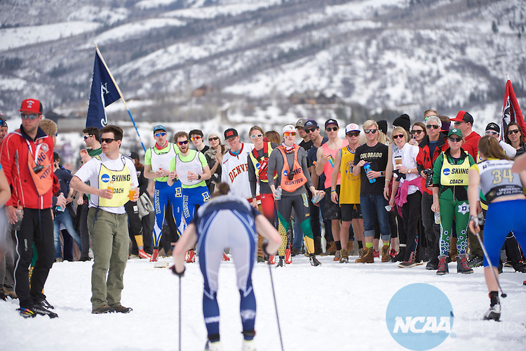 12 MAR 2016:  The Women's 15k Classical and Men's 20K Classical races take place during the 2016 NCAA Men's and Women's Skiing Championships held at the Howelsen Hill Ski Area in Steamboat Springs, CO.   Jamie Schwaberow/NCAA Photos