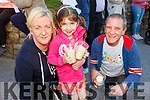Theresa  and Rachel McCrohan (Ballyheigue) and Conor Meleady attending the Recovery Haven Celebration of Light Candle Vigil in Ballyheigue on Monday evening.