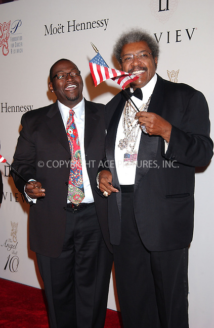WWW.ACEPIXS.COM . . . . . ....October 29 2007, New York City....Randy Jackson and boxing promoter Don King arriving at the 2007 Angel Ball sponsored by LEVIEV to benefit the G&P Foundation for Cancer Research at the Marriott Marquis hotel in midtown Manhattan....Please byline: KRISTIN CALLAHAN - ACEPIXS.COM.. . . . . . ..Ace Pictures, Inc:  ..(646) 769 0430..e-mail: info@acepixs.com..web: http://www.acepixs.com
