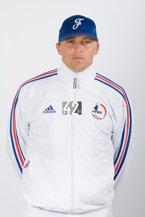 15 Aug 2007: Giovanni Ouin - Team France Baseball