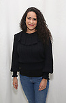 """Keren Lugo attends the cast photocall for the Worls Premiere of """"Actually, We're F**ked"""" at TheaterLab on January 29, 2019 in New York City."""