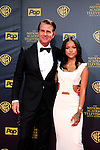 BURBANK - APR 26: Vincent De Paul, Karrueche Tran at the 42nd Daytime Emmy Awards Gala at Warner Bros. Studio on April 26, 2015 in Burbank, California