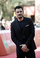 L'attore britannico Orlando Bloom posa sul red carpet per la presentazione del film &quot;Romans&quot; alla Festa del Cinema di Roma, 4 novembre 2017 .<br /> British actor Orlando Bloom poses on the red carpet to present the movie &quot;Romans&quot; during the international Rome Film Festival at Rome's Auditorium, November 4, 2017  .<br /> UPDATE IMAGES PRESS/Isabella Bonotto