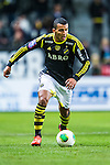 Solna 2013-09-30 Fotboll Allsvenskan AIK - &Ouml;sters IF :  <br /> AIK 11 Nabil Bahoui i aktion <br /> (Foto: Kenta J&ouml;nsson) Nyckelord:  portr&auml;tt portrait