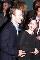 New York City<br /> 2002 <br /> JAMES VAN DER BEEK AND  <br /> FIANCE HEATHER McCOMB<br /> Photo By John Barrett-PHOTOlink.net/MediaPunch