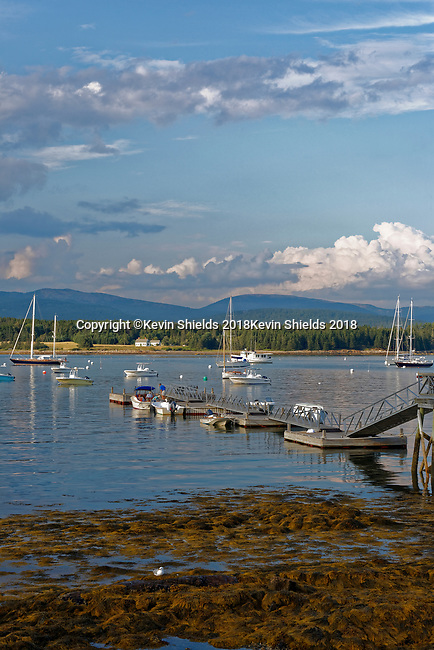 Harbor view, Manset, Southwest Harbor, Maine, USA