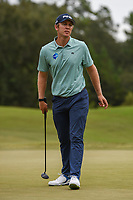 Seamus Power (IRL) watches his putt on 10 during round 4 of the 2019 Houston Open, Golf Club of Houston, Houston, Texas, USA. 10/13/2019.<br /> Picture Ken Murray / Golffile.ie<br /> <br /> All photo usage must carry mandatory copyright credit (© Golffile | Ken Murray)