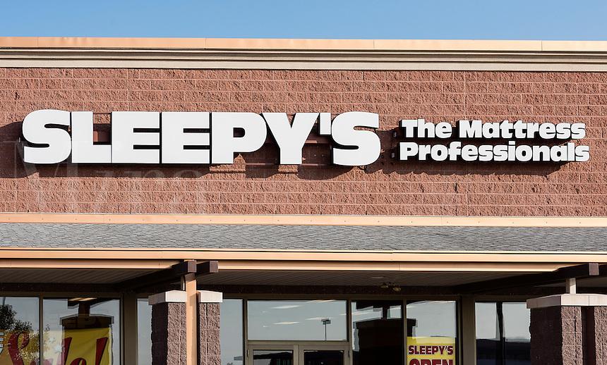 Sleepy's Matress reyail store, Mount Laural, New Jersey, USA